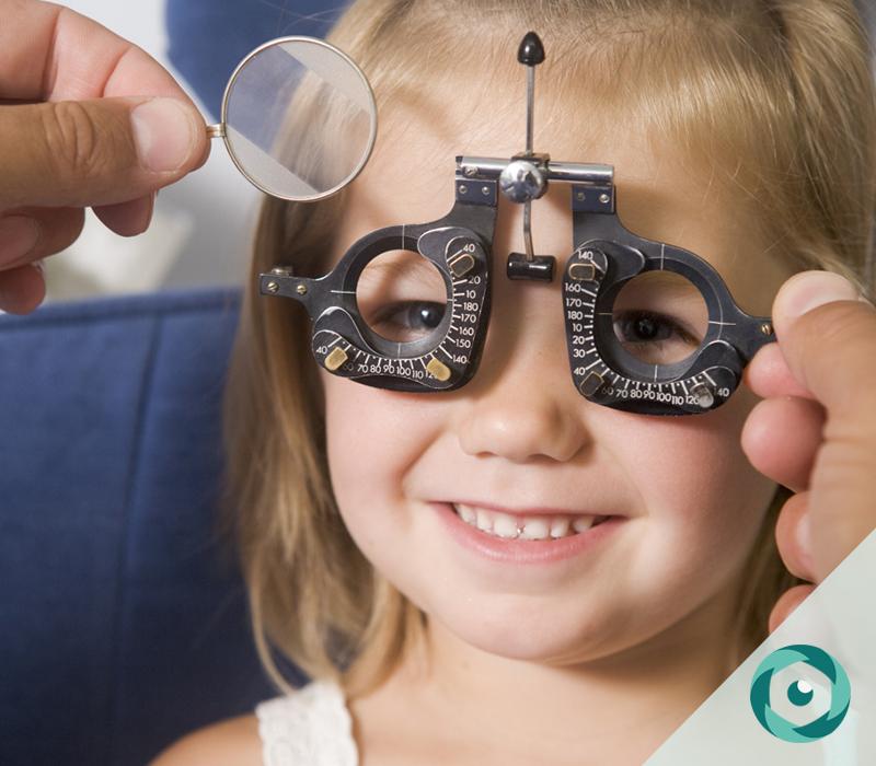 exames oftalmológicos crianças