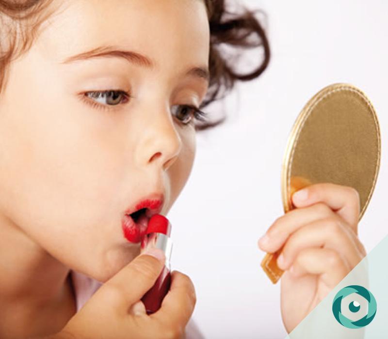 maquiagem na infância